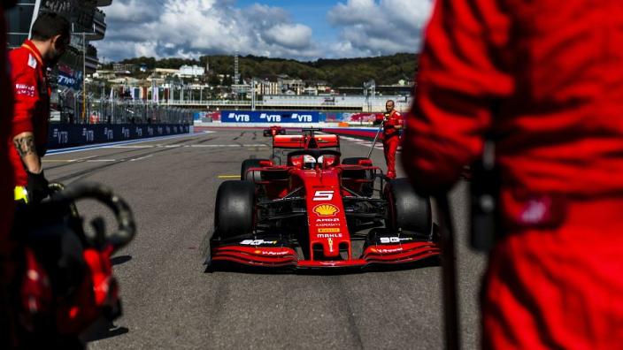 Vettel DNF 'karma' for Ferrari team orders - Villeneuve