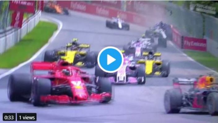 VIDEO: Stroll and Hartley in BIG Montreal crash