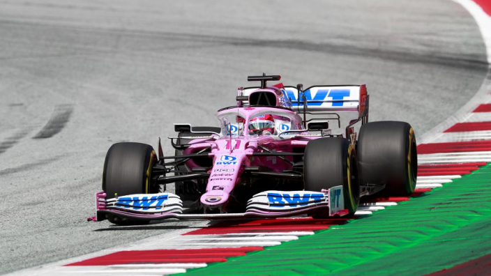 Sergio Perez: I was lucky to only lose one position after Albon contact