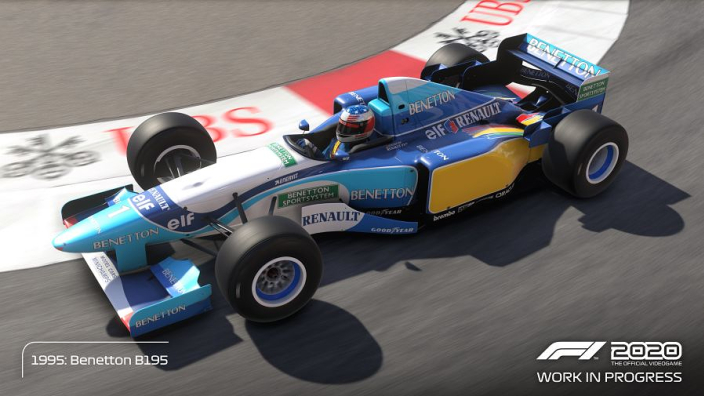 The F1 2020 Deluxe Schumacher Edition trailer is here
