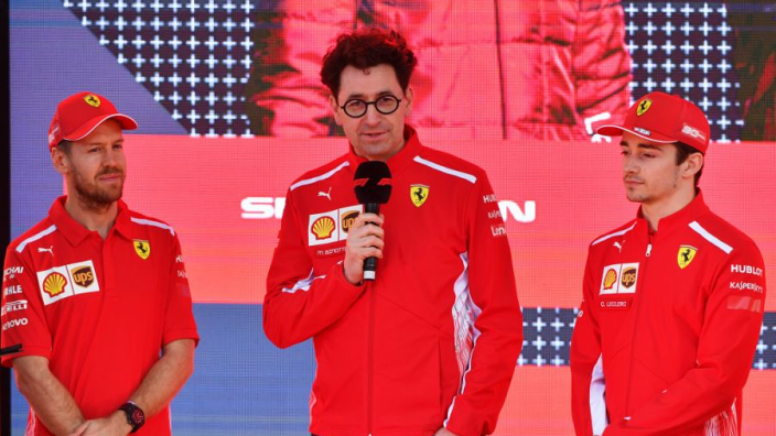 Ferrari won't copy Mercedes with team orders between Leclerc and Vettel