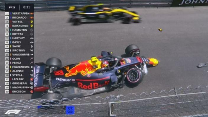 VIDEO: Verstappen SMASHES Red Bull in Monaco practice
