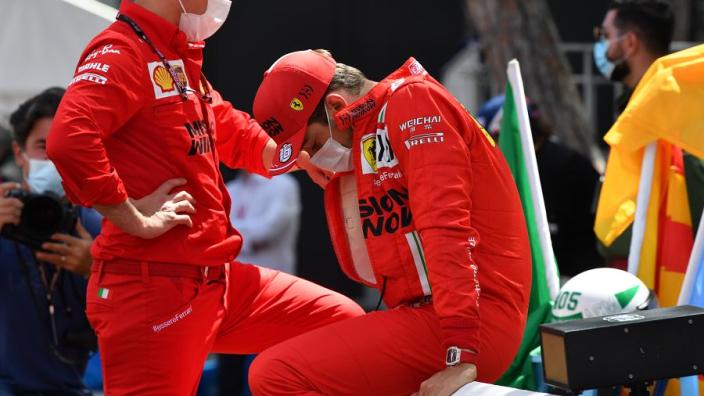 FIA onderzocht crash Leclerc: 'Geen enkele coureur zou zijn auto dusdanig beschadigen'