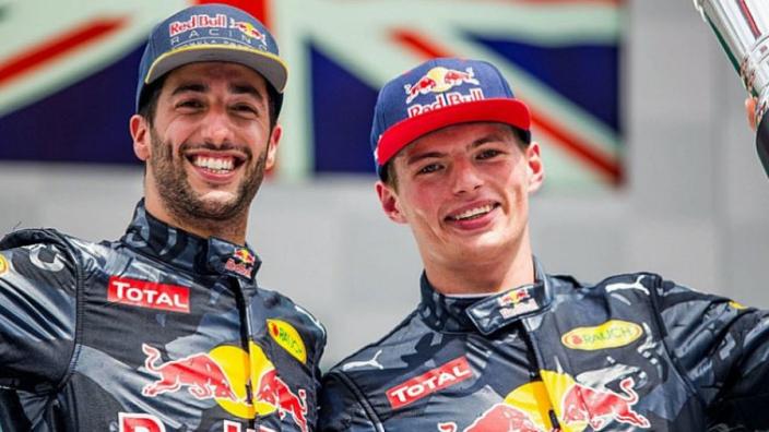 Ricciardo is a very fast guy, says Verstappen
