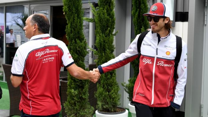 Giovinazzi in the dark on F1 future as Schumacher rumours grow