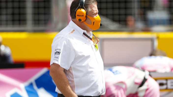 Brown calls for FIA rule change following Racing Point rumpus