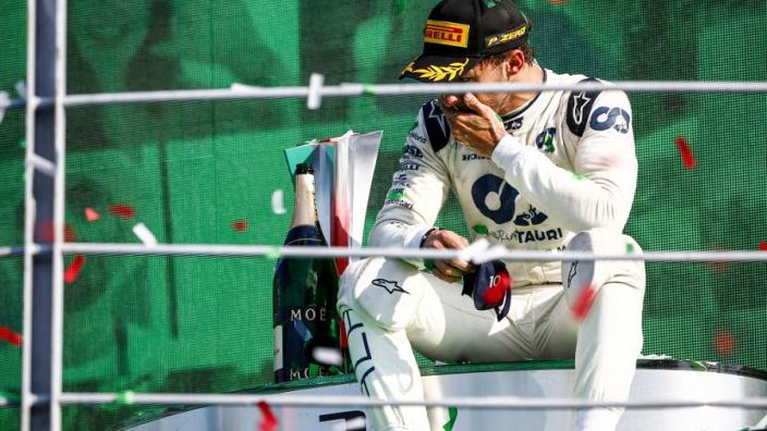 Pierre Gasly slaat de handen ineen met de familie van Ayrton Senna