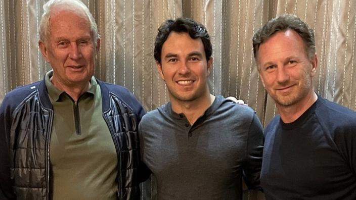 Marko lacht foto met Pérez weg: 'Zijn shirt verraadde ons meer dan de gordijnen'