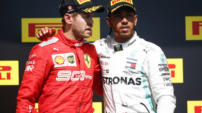 Hamilton 'worried' for Vettel amid Leclerc surge