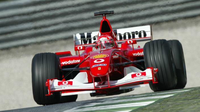 Schumacher's 2002 championship-winning Ferrari to be auctioned