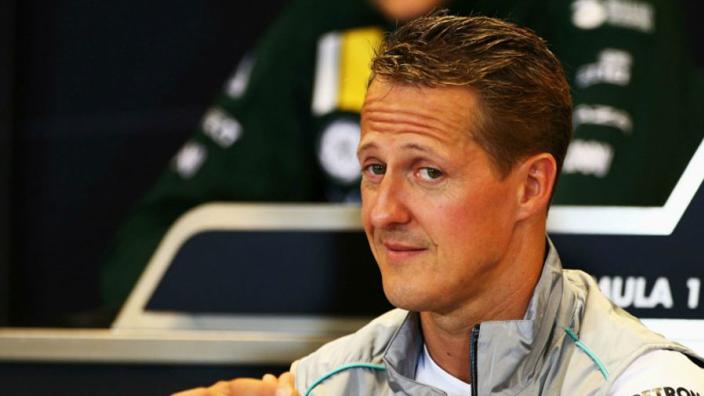 Schumacher 'senses' those near him