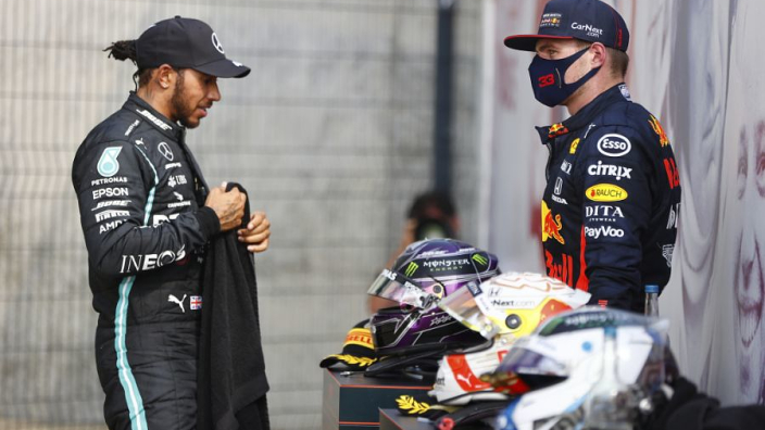 "Horner: There is ""little to choose"" between Hamilton and Verstappen"