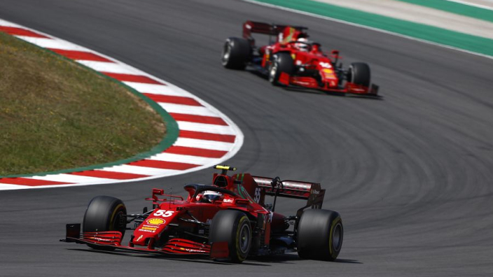 """Ferrari """"didn't get things right"""" after Portugal points disappearing act - Sainz"""
