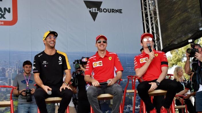 Vettel-Leclerc dynamic compared to Vettel-Ricciardo