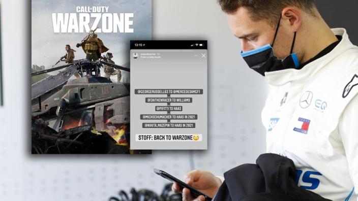 """Vandoorne ziet alle zitjes aan zijn neus voorbij gaan: """"Dan maar Call of Duty"""""""
