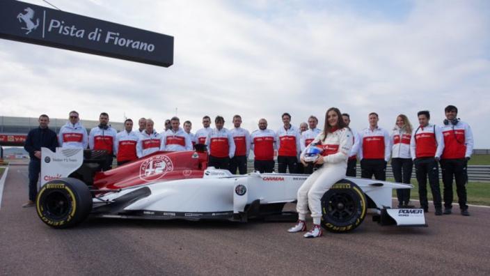 Calderon impresses in second Sauber test