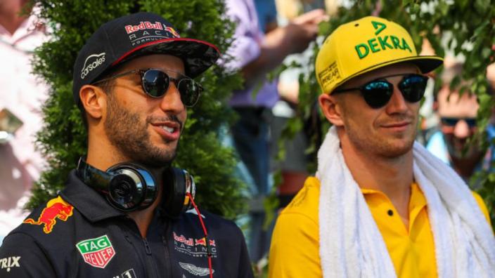 How Hulkenberg reacted to Ricciardo's Renault move