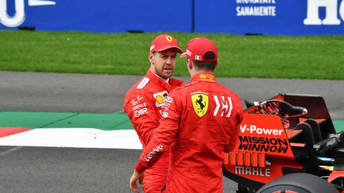 Leclerc: 'Ik leer zoveel van Vettel, kan uren naar hem luisteren'