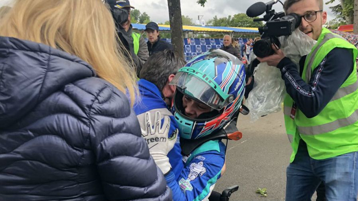 Double amputee wins Pau Grand Prix race