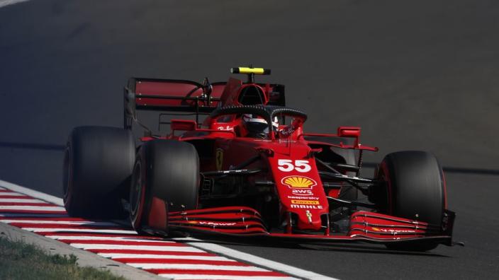 "Ferrari ""vulnerable"" to midfield attack in Hungary - Sainz"
