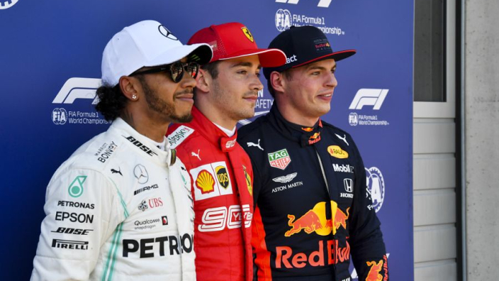 "Ecclestone: ""Hamilton moet niet naar Ferrari, want Leclerc zal hem verslaan"""