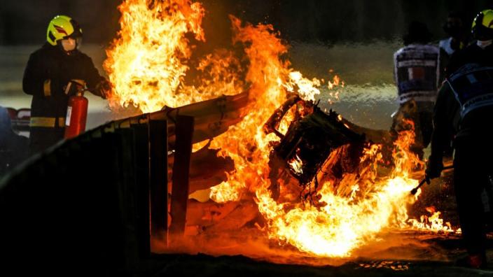 """Grosjean zat 28 seconden vast in vlammenzee: """"Zag de dood aankomen"""""""