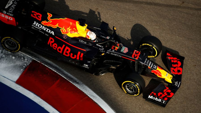 """Verstappen """"very pleased"""" with unexpected Russian GP front-row qualifying"""