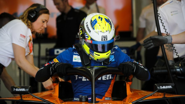 McLaren operation is insane - Norris