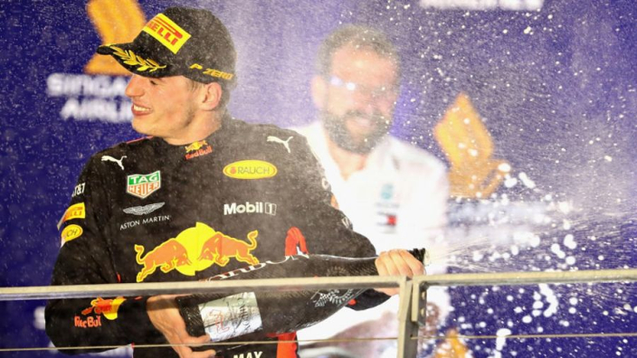 Verstappen proved he's a 'future champion' in Singapore