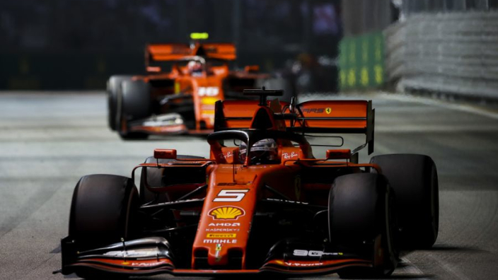 Disappointed Vettel undone late in Singapore pole bid