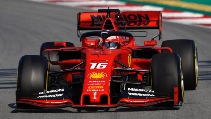 Leclerc lap out of Red Bull's reach, Gasly admits
