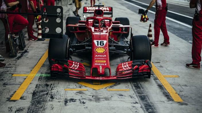 Leclerc quicker than Vettel in Abu Dhabi test