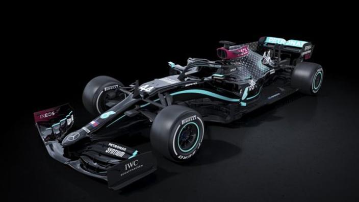 Codemasters reageert op nieuwe bolide Mercedes