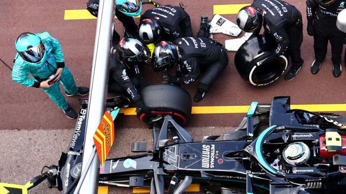 Bottas waarschuwde Mercedes: 'Pitstop in Monaco kwam niet uit de lucht vallen'