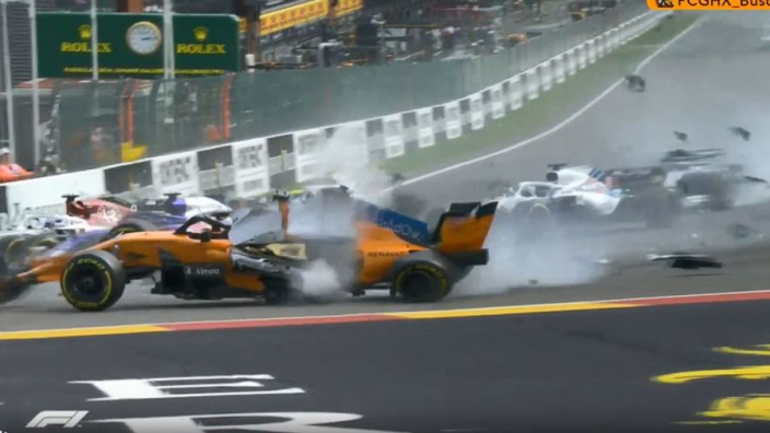 VIDEO: Halo to the rescue in CRAZY Spa crash