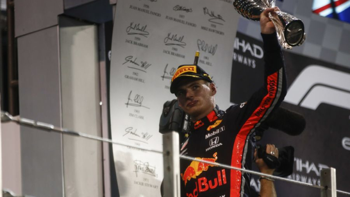 Verstappen targeting a podium finish in every 2020 race