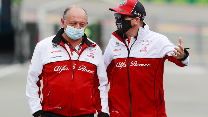 "Alfa Romeo leave door open for ""hugely important"" Raikkonen to stay on"