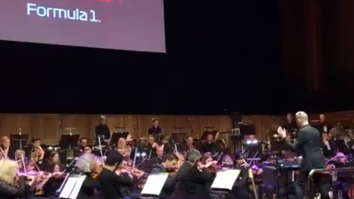 VIDEO: Orchestra play F1 theme!