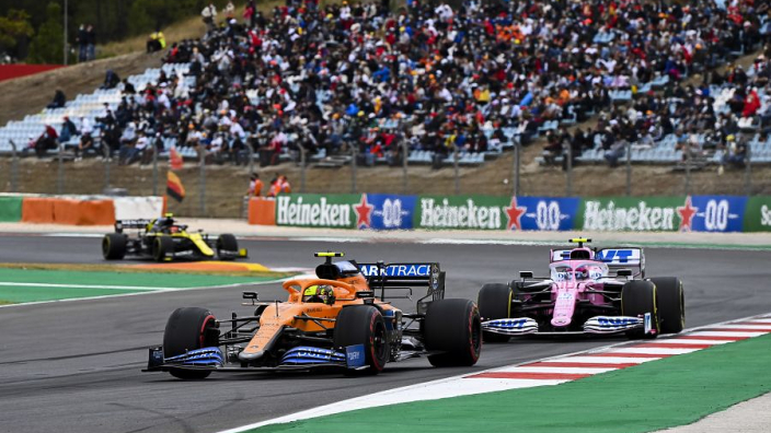 """Norris vows to """"stay away"""" from 'crash-a-lot' Stroll at future grands prix"""