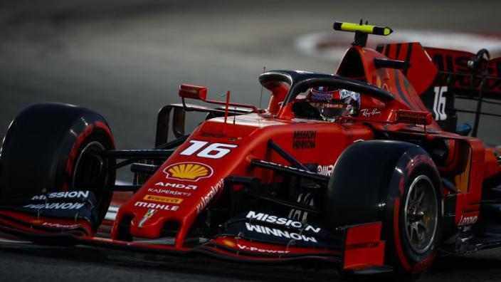 Leclerc pushed to risk-taking in Abu Dhabi after Ferrari error