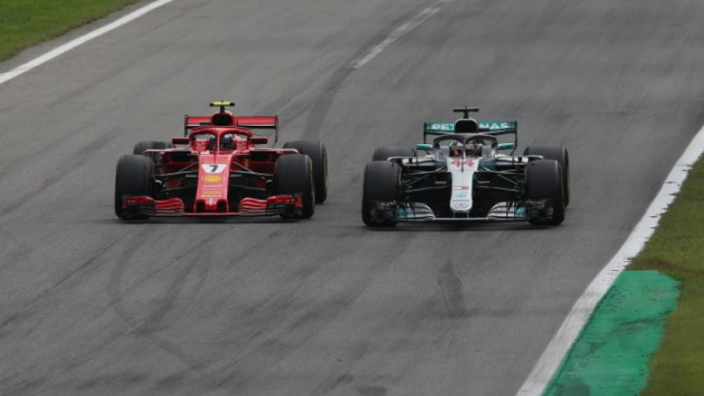 VIDEO: Hamilton outpaced by Ferrari at Suzuka