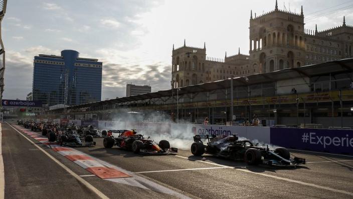 Mercedes explains Hamilton's Baku restart 'magic' problem