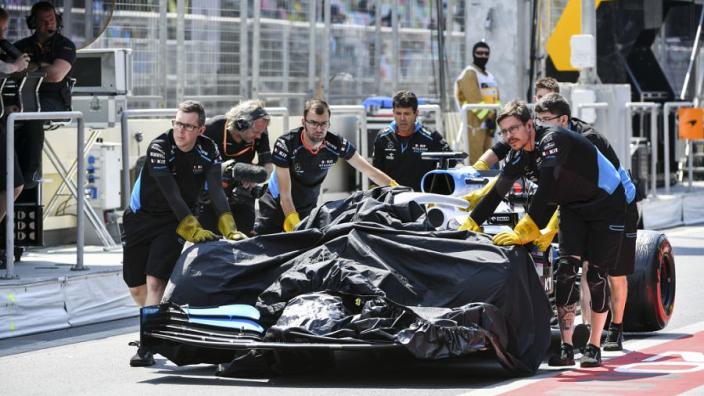 """Williams heeft schadevergoeding uit Baku nog niet: """"Zijn er mee bezig"""""""