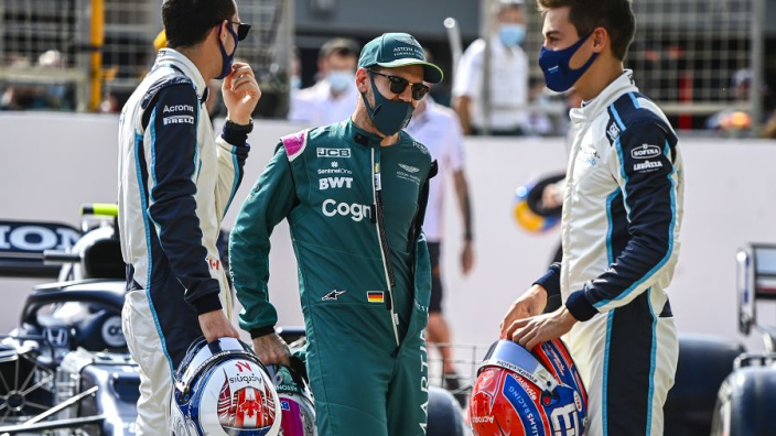 Vettel leaps to Russell's defence over Bottas outburst