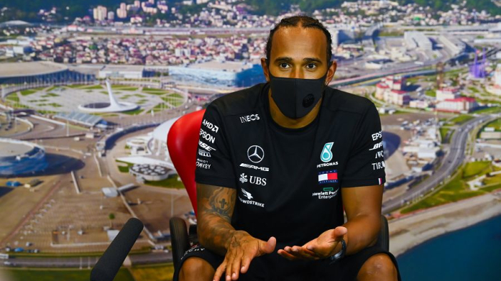 Mercedes blame miscommunication for Hamilton Russia blunder