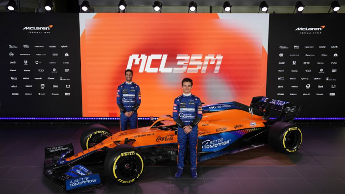 "Norris and Ricciardo ""never really spoke"" before McLaren partnership"