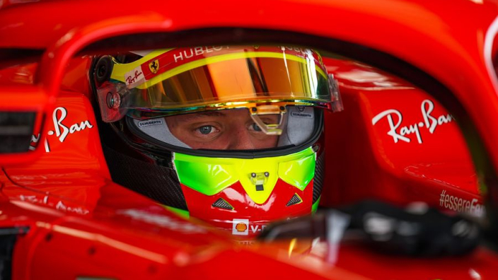 Mick Schumacher debuts next week at Alfa Romeo