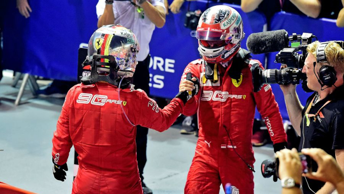 Why Leclerc will benefit from Vettel's Singapore win - Brawn