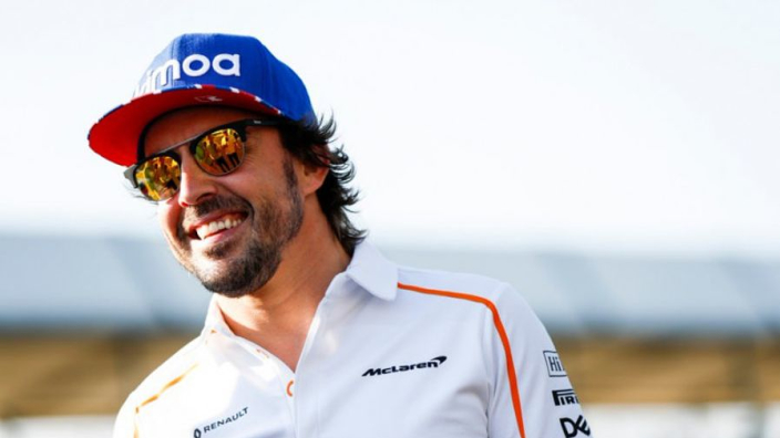 Alonso lashes out at F1 Twitter account