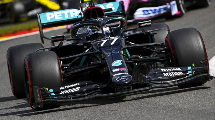 "Bottas: ""I don't recall"" being told not to race Hamilton before Belgian GP"